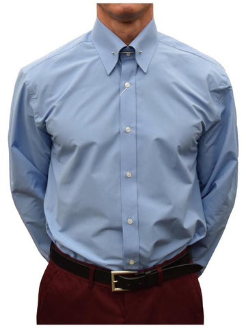 Get Up China Blue Pin Collar Shirt