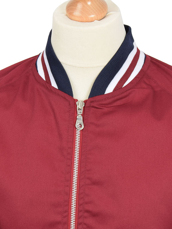 Real Hoxton Maroon Monkey Jacket