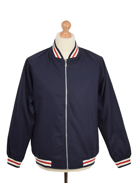Real Hoxton Navy Monkey Jacket