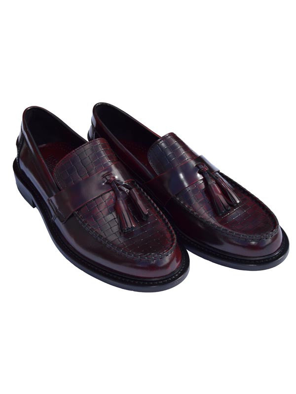 Ikon Original Bordo Weaver Loafers