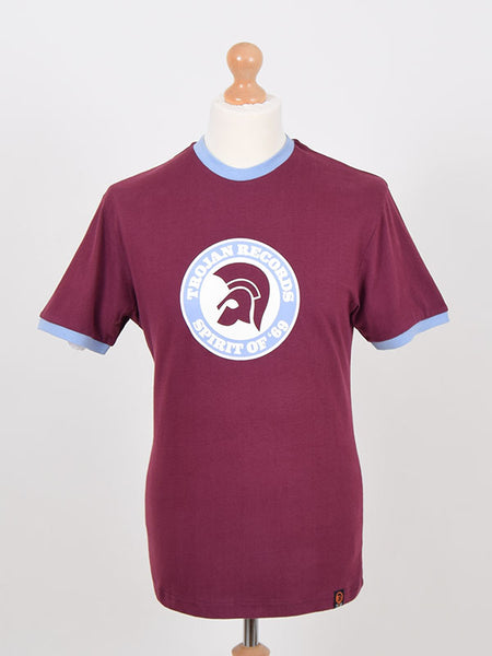 Trojan Records Port Spirit Of '69 Logo T Shirt