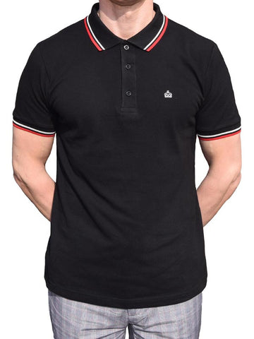 Merc Black Polo Shirt