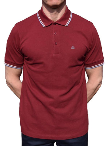 Merc Burgundy Polo Shirt