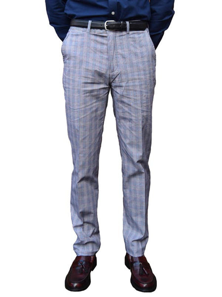 Merc Prince Of Wales Check Trousers