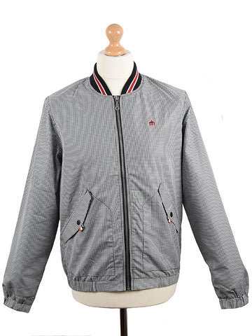 Merc Black Gingham Monkey Jacket