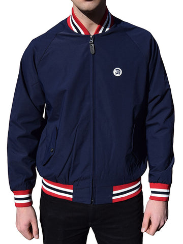 Trojan Records Navy Monkey Jacket