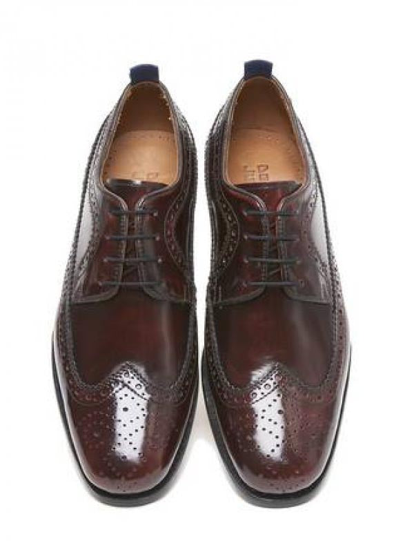 Delicious Junction Oxblood Upsetter Royale Brogues