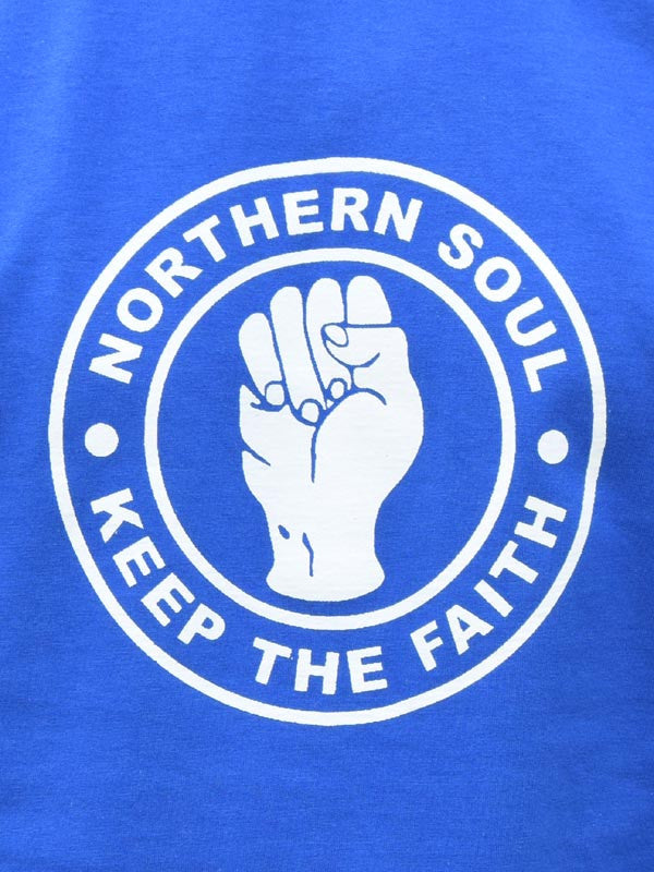 Keep The Faith Royal Blue T Shirt