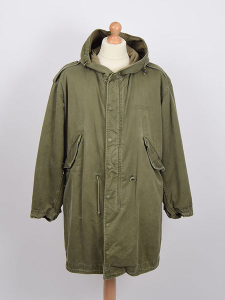 Vintage 1958 M51 Parka Size Medium