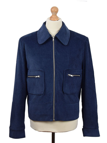 Phix Clothing Blue 1969 Cord Jacket
