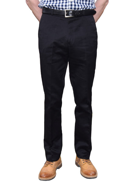 Relco Black Sta Press Trousers