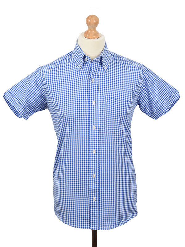 Relco Blue Gingham Shirt