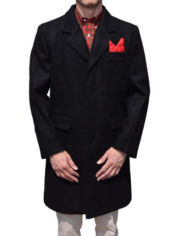 Relco Black Cromby Style Coat