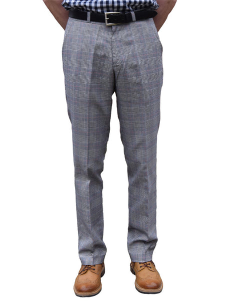 Relco Prince Of Wales Sta Press Trousers