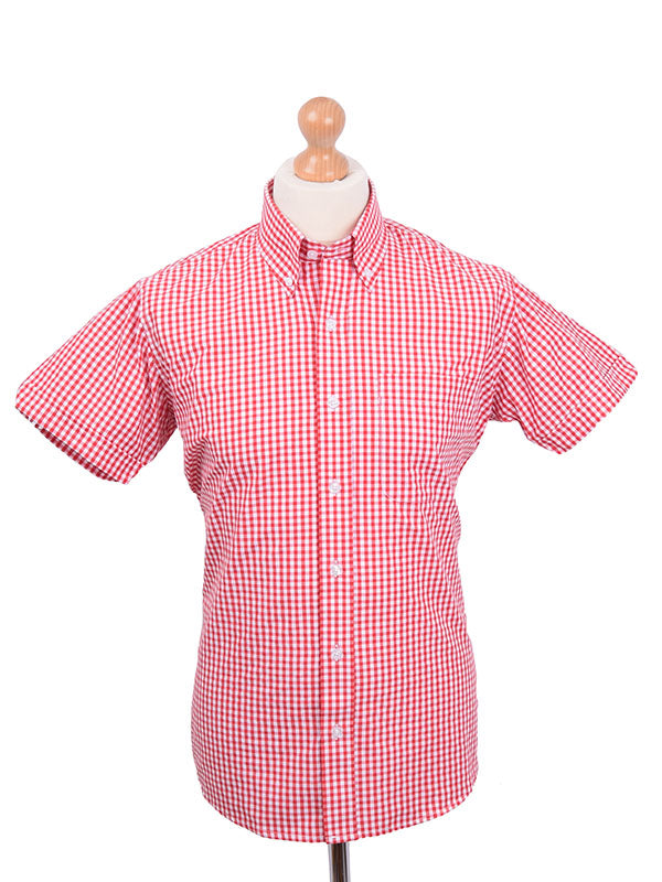 Relco Red Gingham Shirt