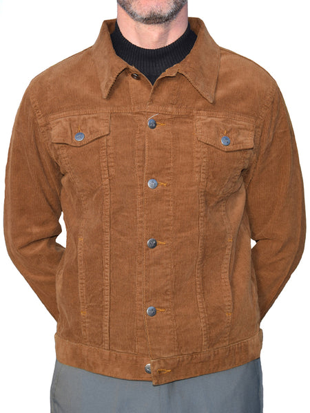 Run & Fly Tobacco Corduroy Western Jacket