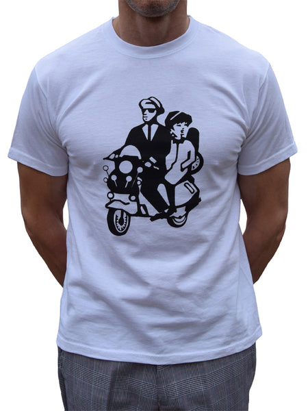 Walt & Betty Scooter T Shirt