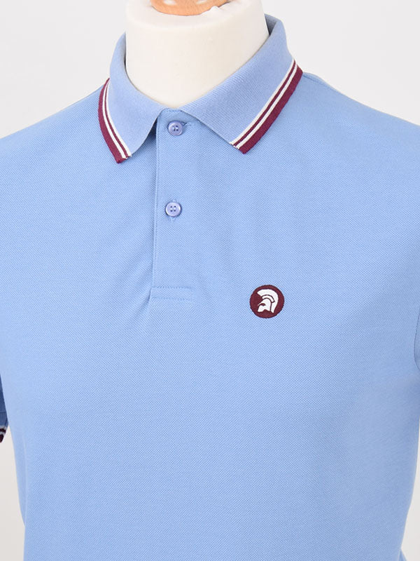 Trojan Records Sky Tipped Signature Polo Shirt