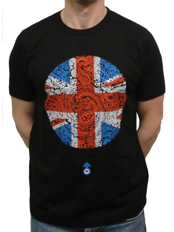 Stomp Paisley Union Jack T Shirt