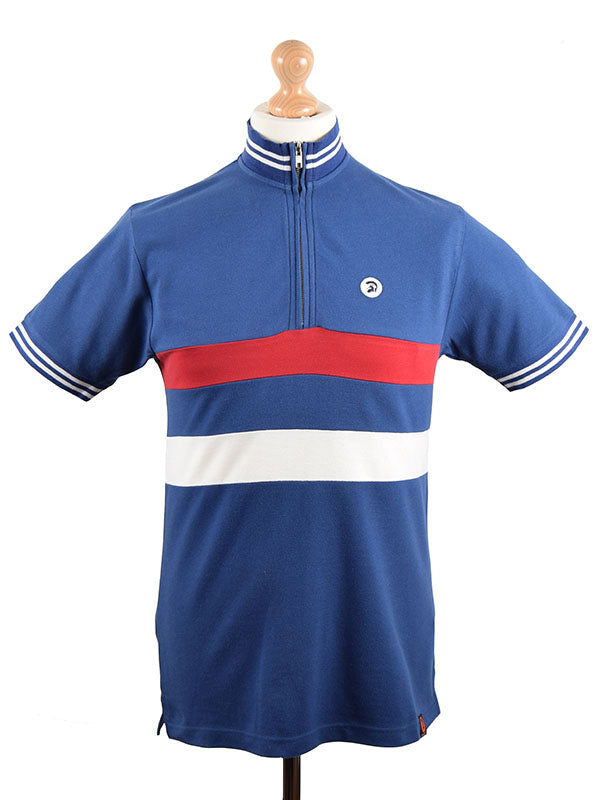 Trojan Records Electric Navy Cycle Top