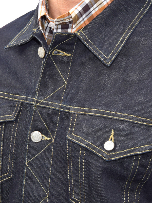Trojan Records Raw Denim Trucker Jacket