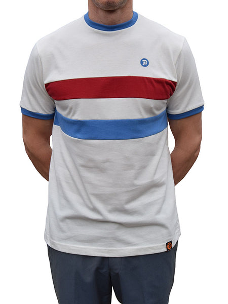 Trojan Records Ecru Stripe T Shirt