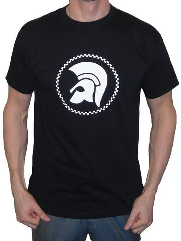 Black Trojan Head T Shirt