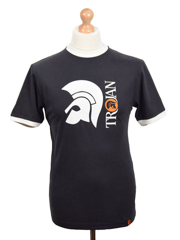 Trojan Records Black Helmet T Shirt
