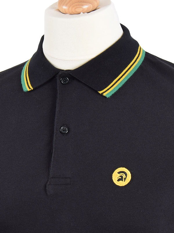 Trojan Records Jamaica Tipped Signature Polo Shirt
