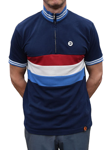 Trojan Records Navy Cycle Top
