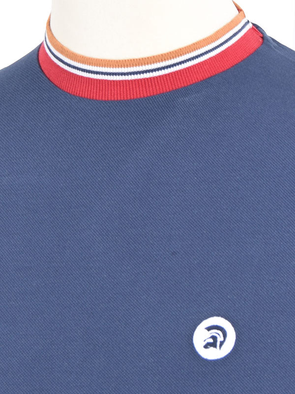 Trojan Records Navy Tipped Top