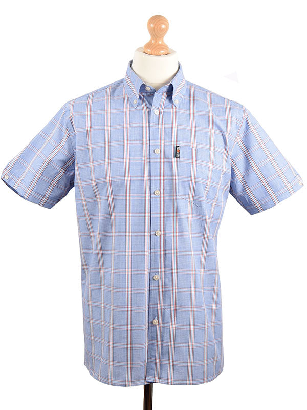 Trojan Records Blue Prince Of Wales Shirt