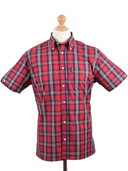 Trojan Records Blood Tartan Shirt