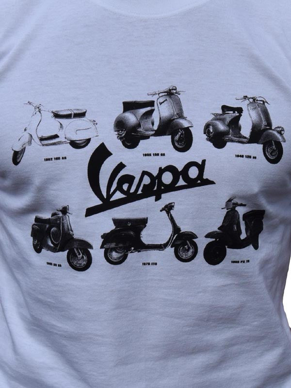 Vespa Scooters T Shirt