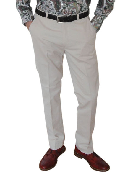 Warrior Cream Sta Press Trousers