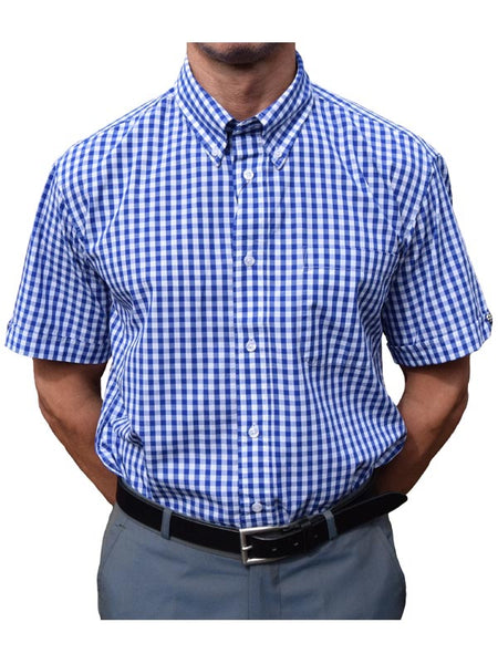 Warrior Blue Gingham Shirt