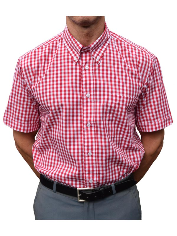Warrior Red Gingham Shirt
