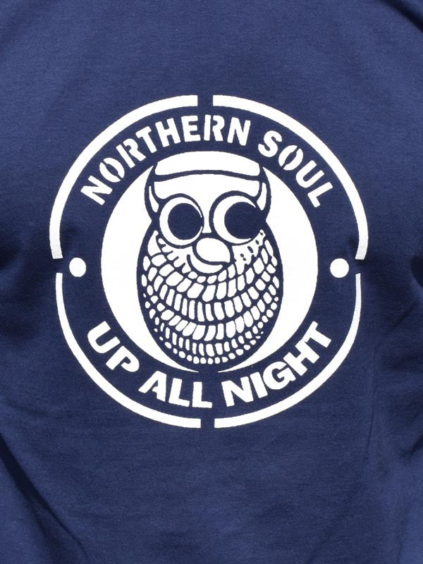 Up All Night Navy T Shirt