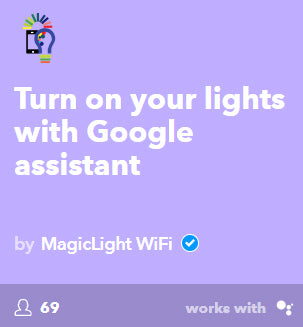 Google assistant smart light