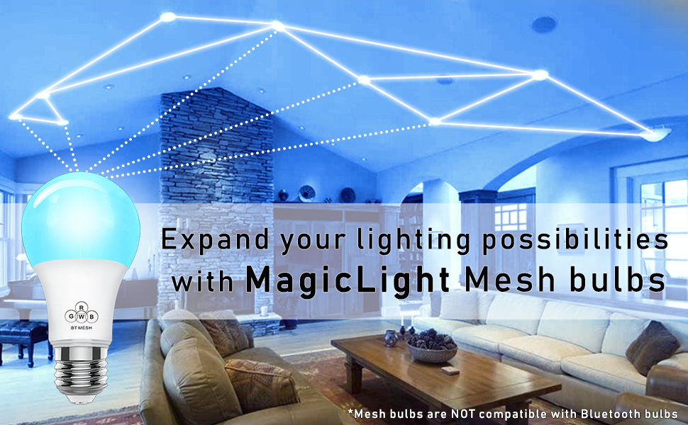MagicConnect Bluetooth Mesh bulb