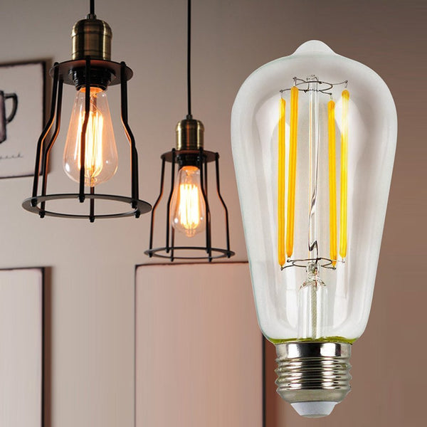 MagicLight® 6W Vintage LED Filament Light Bulb - ST64