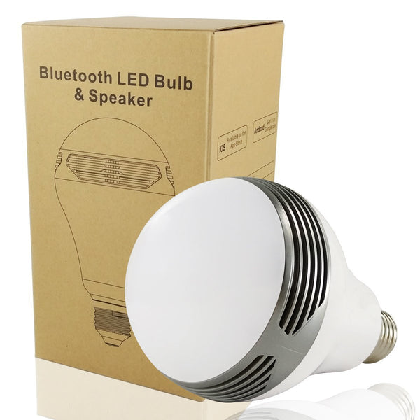 light bulb with speaker