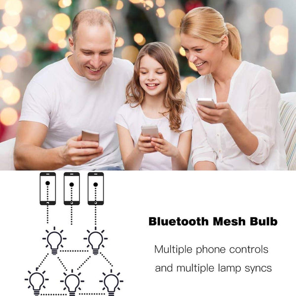 MagicConnect Bluetooth with Mesh Technology Warm White Light Bulb