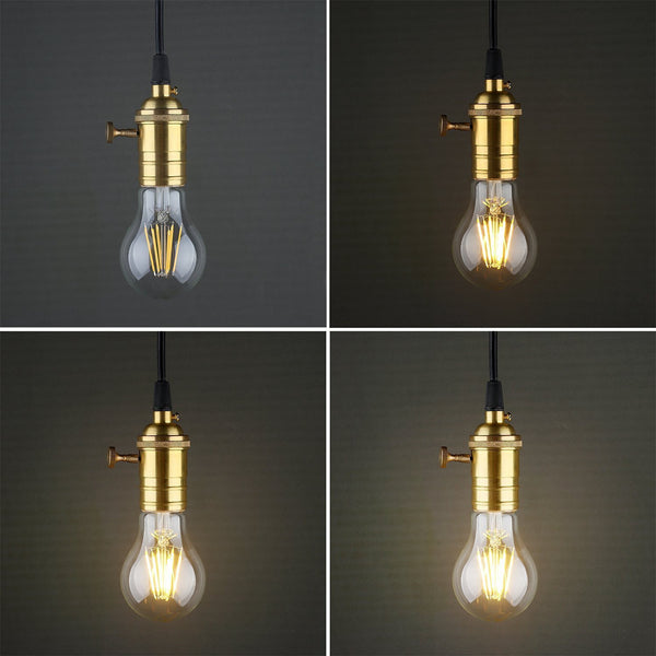 MagicLight® 8W Vintage LED Edison Light Bulb - A19
