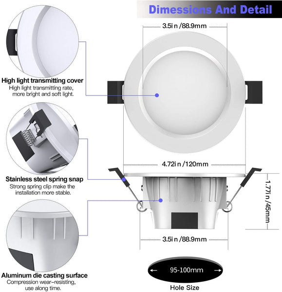 MagicConnect Bluetooth Downlight 80 Watt (4-Pack)