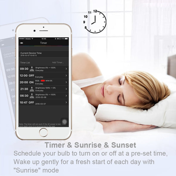 wake up light app