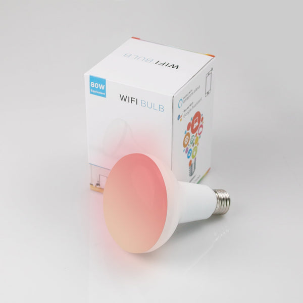 WiFi BR30 LED Flood Smart Light Bulb