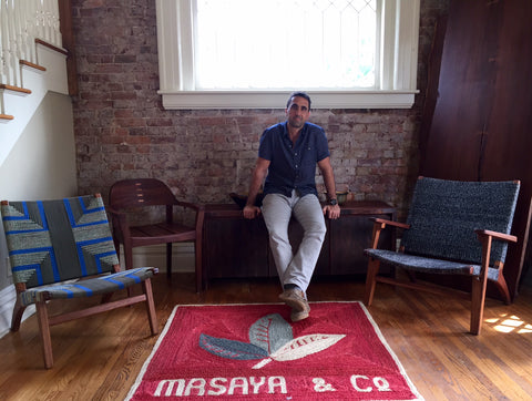 Aram Terry, founder, Masaya and Co.