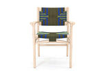Chontales Arm Chair, Emerald Coast Pattern