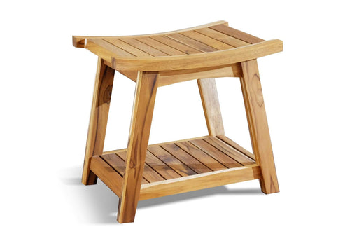 Ometepe Teak Shower Stool